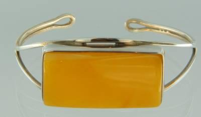 Armband Bernstein milchig